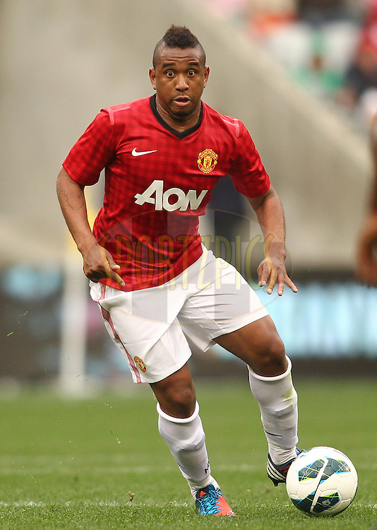 Anderson of Manchester United during the Football Invitational 2012 match between Ajax Cape Town and Manchester United held at Cape Town Stadium on 21 July 2012 in Cape Town, South Africa..Photo by Shaun Roy / Sportzpics