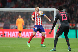 May 3, 2018 - Madrid, Spain - GABI of Atletico de Madrid during the UEFA Europa League, semi final, 2nd leg football match between Atletico de Madrid and Arsenal FC on May 3, 2018 at Metropolitano stadium in Madrid, Spain (Credit Image: © Manuel Blondeau via ZUMA Wire)