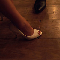 BEIJING, NOVEMBER -24 : a woman in an underground lesbian club in Beijing.