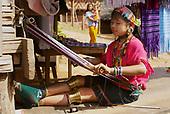 Padaung (Long Neck) hill tribe