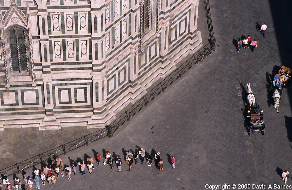 Piazza del Duomo, Duomo, Florence, Italy.Tuscany