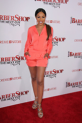 """Wendy Raquel Robinson, at the """"Barbershop The Next Cut"""" Premiere, TCL Chinese Theater, Hollywood, CA 04-06-16. EXPA Pictures © 2016, PhotoCredit: EXPA/ Photoshot/ Martin Sloan<br /> <br /> *****ATTENTION - for AUT, SLO, CRO, SRB, BIH, MAZ, SUI only*****"""