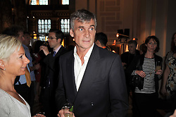 CHRISTOPHER WHALLEY at a private view of a new collection of bronzes and original paintings by artist Jonathan Wylder and his muse Jennifer Wade held at the V&A Museum, London on 27th April 2011.