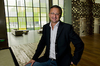 Australian Anthony Ross, The Opposite House general manager who opened the Opposite House hotel in Beijing in August 2008.