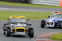 #53 Matthew Welch Caterham Roadsport during the Avon Tyres Caterham Roadsport Championship at Oulton Park, Little Budworth, Cheshire, United Kingdom. August 13 2016. World Copyright Peter Taylor/PSP.