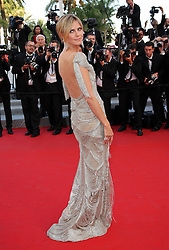 Heidi Klum   arriving for the premiere of  The Paperboy  at the Cannes Film Festival, Thursday, 24th May 2012. Photo by: Stephen Lock / i-Images