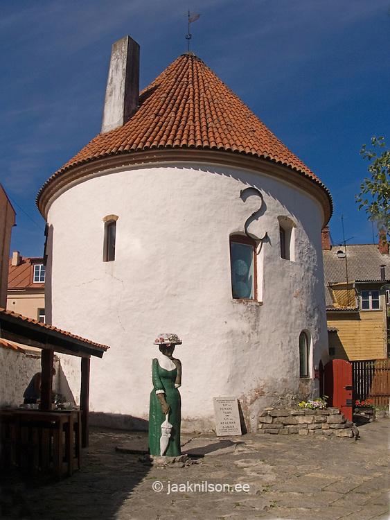 Red Tower in Pärnu, Estonia, Europe