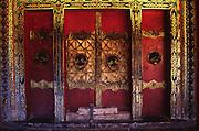 Tbetan Monstary Door
