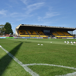 TELFORD COPYRIGHT MIKE SHERIDAN A general view of Haig Avenue during the National League North fixture between Southport and AFC Telford United at Haig Avenue on Saturday, August 24, 2019<br /> <br /> Picture credit: Mike Sheridan<br /> <br /> MS201920-005