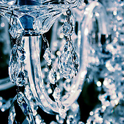 Chandelier crystals, London, England (December 2004)
