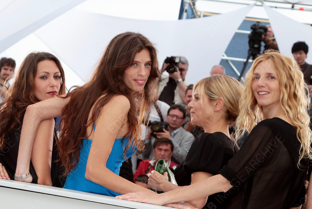 13.MAY.2011. CANNES<br /> <br /> MAIWENN LE BESCO NAIDA AYADRI, KAROLE ROCHER, MARINA FOIS, SANDRINE KIBERLAIN, KARIN VIARD AT POLISSE PHOTOCALL FOR THE 64TH INTERNATIONAL CANNES FILM FESTIVAL<br /> <br /> BYLINE: EDBIMAGEARCHIVE.COM<br /> <br /> *THIS IMAGE IS STRICTLY FOR UK NEWSPAPERS AND MAGAZINES ONLY*<br /> *FOR WORLD WIDE SALES AND WEB USE PLEASE CONTACT EDBIMAGEARCHIVE - 0208 954 5968*