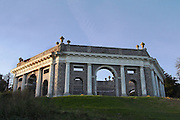 The massive mausoleum at West Wycombe, where the infamous Sir Francis Dashwood, founder of the Hellfire Club is interred. It was also used in the Hammer Horror movie 'To the Devil A Daughter'