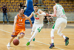 Jure Mocnik of Helios Suns during basketball match between KK Petrol Olimpija and KK Helios Suns in Round #9 of Liga Nova KBM 2018/19, on December 14, 2018 in Arena Tivoli, Ljubljana, Slovenia. Photo by Vid Ponikvar / Sportida