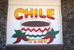 chile sign found in New Mexico