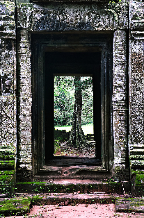 A temple in Siem Reap, Cambodia.