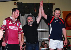 John Horan won his bout aginst his Galway opponent...Pic Conor McKeown.