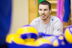 Alen Pajenk during training camp of Slovenian Volleyball Men Team 1 month before FIVB Volleyball World League tournament in Ljubljana, on May 5, 2016 in Arena Vitranc, Kranjska Gora, Slovenia. Photo by Vid Ponikvar / Sportida