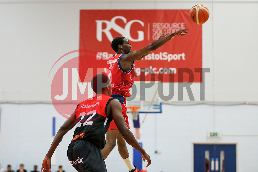 Hameed Ali of Bristol Flyers - Rogan Thomson/JMP - 21/10/2016 - BASKETBALL - SGS Wise Arena - Bristol, England - Bristol Flyers v Leicester Riders - BBL Championship.