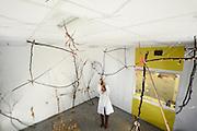 Spinnenraum des Forschungstraktes der Medizinischen Hochschule Hannover (MHH)