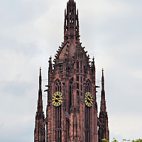 Frankfurt Cathedral Spire in Frankfurt, Germany <br />