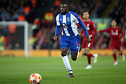 FC Porto forward Moussa Marega (11) during the Champions League Quarter-Final Leg 1 of 2 match between Liverpool and FC Porto at Anfield, Liverpool, England on 9 April 2019.