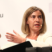 20160615 - Brussels , Belgium - 2016 June 15th - European Development Days - Implementing Sustainable Development Goal 16 for peaceful and inclusive societies - Federica Mogherini , High Representative of the European Union for Foreign Affairs and Security Policy and Vice-President of the European Commission © European Union
