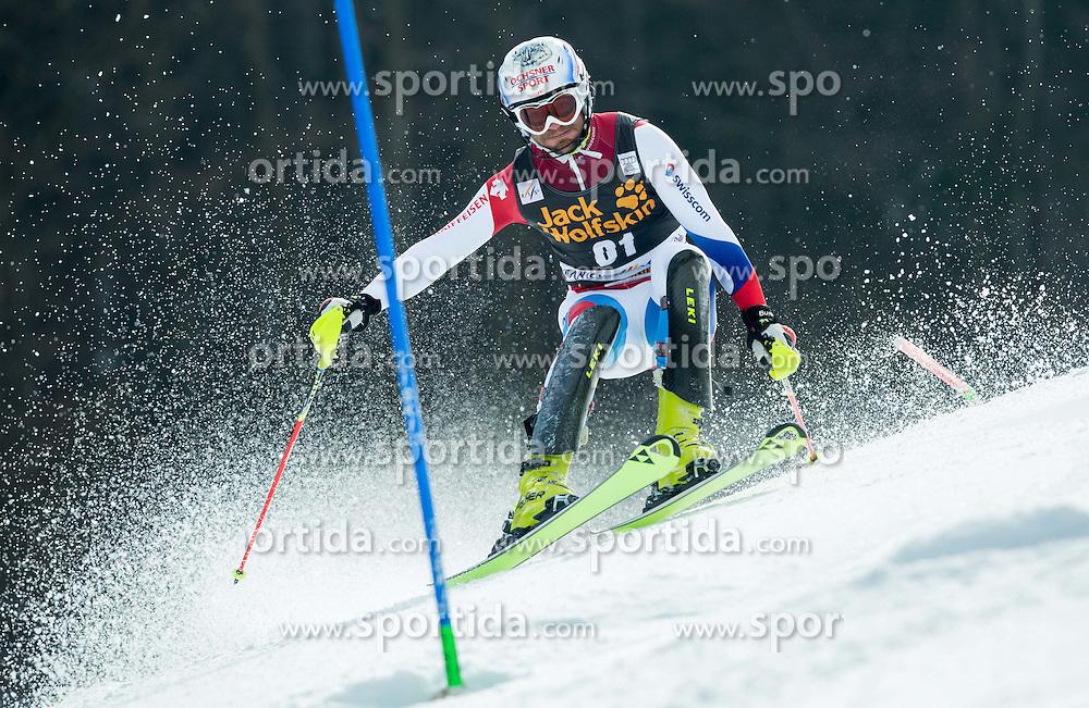 VOGEL Markus of Switzerland competes during 1st Run of Men Slalom race of FIS Alpine Ski World Cup 54th Vitranc Cup 2015, on March 15, 2015 in Kranjska Gora, Slovenia. Photo by Vid Ponikvar / Sportida