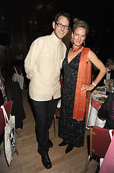 MARK SAINSBURY and VANESSA BUXTON at a dinner in aid of the charity 'Save The Rhino' at The Porchester Hall, Porchester Road, London W2 on 13th November 2008.