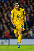Francisco Soares (#29) of FC Porto during the Group G Europa League match between Rangers FC and FC Porto at Ibrox Stadium, Glasgow, Scotland on 7 November 2019.