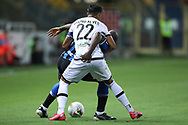 Inter's Belgian striker Romelu Lukaku gets to grips with Parma Calcio's Portugese defender Bruno Alves during the Serie A match at Stadio Ennio Tardini, Parma. Picture date: 28th June 2020. Picture credit should read: Jonathan Moscrop/Sportimage