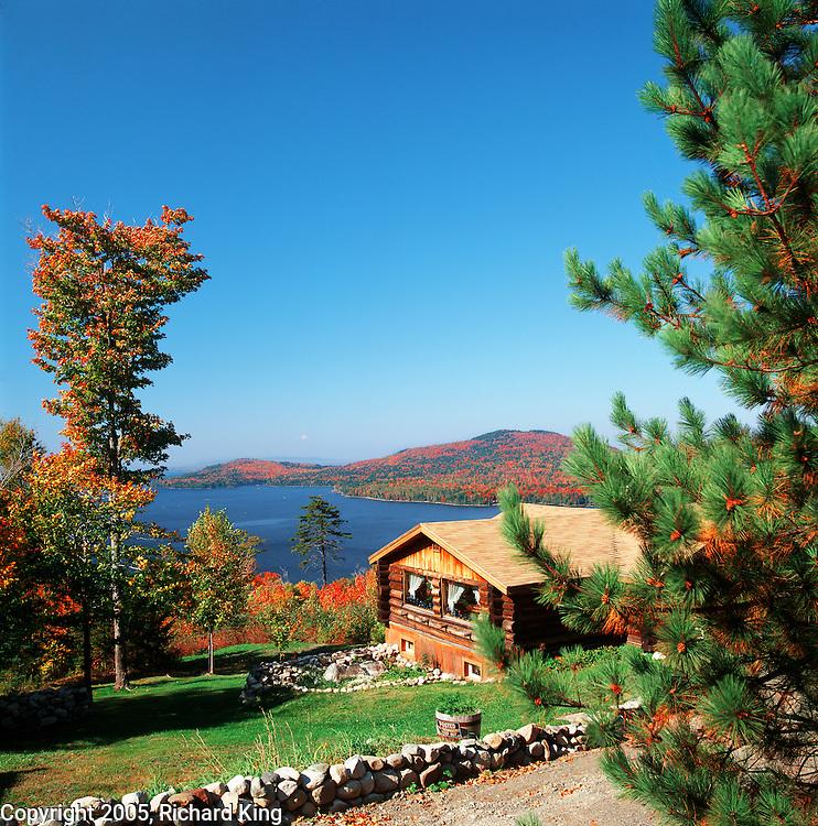 Autumn, Moosehead Lake, Maine Highlands