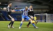 Brighton striker, Bobby Zamora (25) during the Sky Bet Championship match between Brighton and Hove Albion and Brentford at the American Express Community Stadium, Brighton and Hove, England on 5 February 2016.