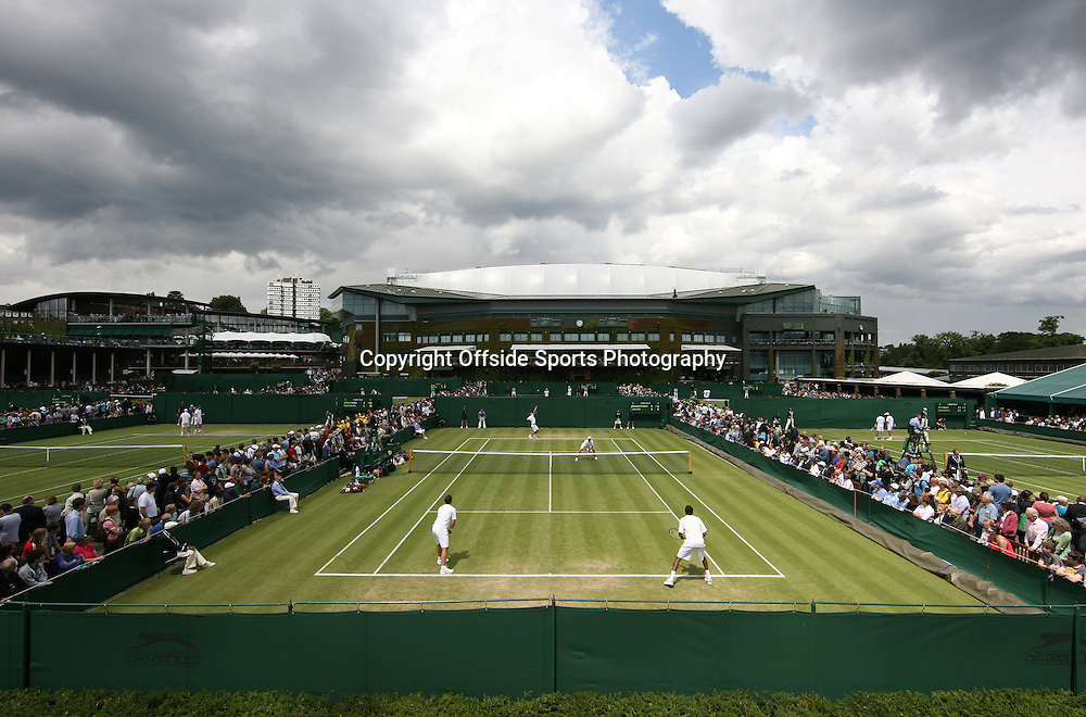 23/06/2011 - Wimbledon (Day 4) - A general view (GV) of Court 10 - Photo: Simon Stacpoole / Offside.