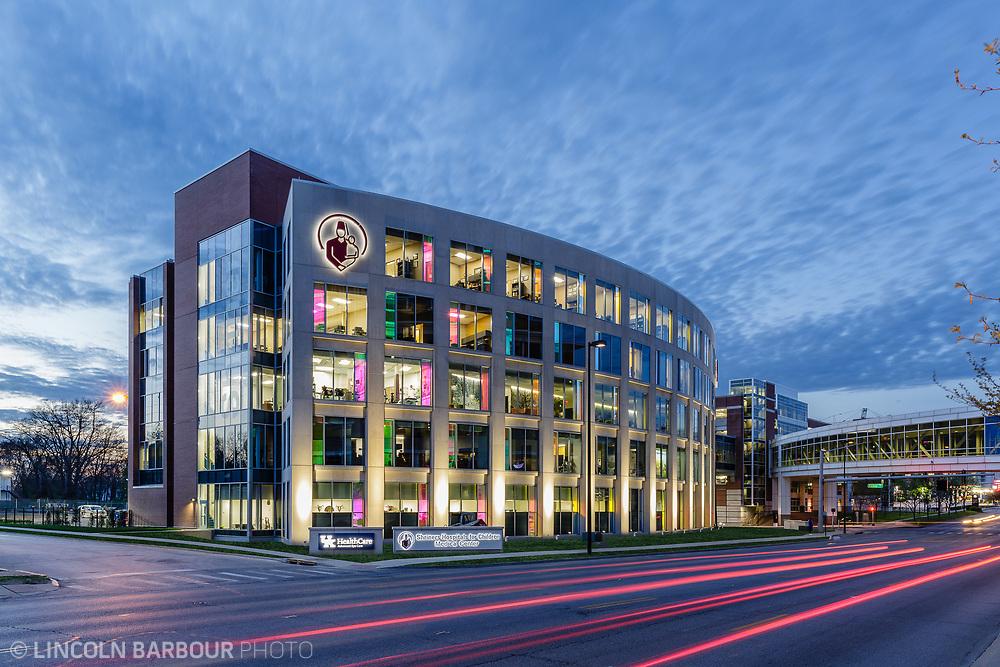 Exterior shot of a Hospital