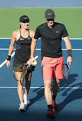 September 8, 2017 - Flushing Meadows, New York, U.S - Martina Hinghis/Jamie Murray defeat CoCo Vandeweghe/Horia Tecau in Mixed Doubles on Day Twelve of the 2017 US Open at the USTA Billie Jean King National Tennis Center on Friday September 8, 2017 in the Flushing neighborhood of the Queens borough of New York City.  Hinghis/Murray defeat Vandeweghe/Tecau, 6-4, 7-6  (Credit Image: © Prensa Internacional via ZUMA Wire)