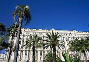 Frankrijk, Cannes, 30-8-2006..Het Carlton inter continental hotel aan de Croisette...Foto: Flip Franssen/Hollandse Hoogte