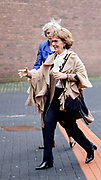 Prinses Margriet is aanwezig bij de bijeenkomst van Grenzeloos actief en de finales van de wereldkampioenschappen para-cycling 2019 in Omnisport te Apeldoorn<br /> <br /> Princess Margriet is present at the meeting of Grenzeloos active and the finals of the 2019 para-cycling world championships in Omnisport in Apeldoorn