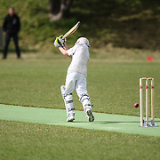 Junior cricket game played between Tawa Junior YR6 and Wellington Collegians YR6 teams, on 6 December 2014, at Ian Galloway Park, Wellington, New Zealand