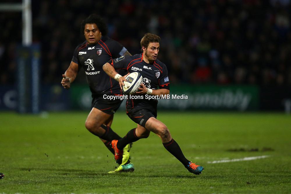 Maxime Medard - 07.12.2014 - Toulouse / Glasgow - European Champions Cup -<br />Photo : Manuel Blondeau / Icon Sport