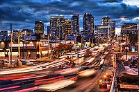 Bellevue Skyline, Early Evening