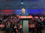 Ed Miliband <br /> Leader of the Labour Party <br /> Campaign Event at The Royal Horticultural Halls, 80 Vincent Square, London, SW1P 2PE<br /> 2nd May 2015 <br /> <br /> Ed Miliband MP <br /> Labour Leader <br /> General Election Campaign 2015 <br /> <br /> introduced by <br /> Jason Isaacs<br /> Actor<br /> <br /> <br /> Photograph by Elliott Franks <br /> Image licensed to Elliott Franks Photography Services