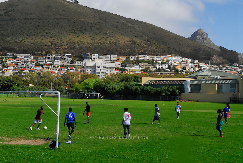 Street Soccer Cape Town.
