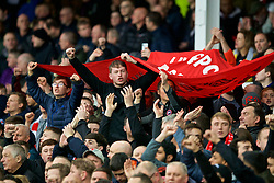 LIVERPOOL, ENGLAND - Sunday, March 3, 2019: Liverpool supporters before the FA Premier League match between Everton FC and Liverpool FC, the 233rd Merseyside Derby, at Goodison Park. (Pic by Paul Greenwood/Propaganda)