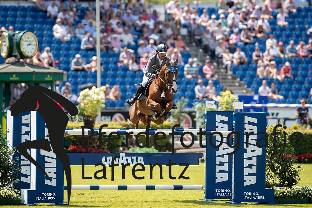 WEISHAUPT Philipp (GER), Lasse K<br /> Aachen - CHIO 2018<br /> Preis von Nordrhein-Westfalen<br /> 20. Juli 2018<br /> © www.sportfotos-lafrentz.de/Stefan Lafrentz
