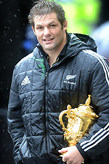Wellington-Rugby, RWC, Victory parade to Parliament