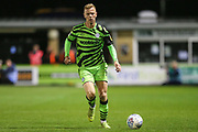 Forest Green Rovers Nathan McGinley(19) runs forward during the Leasing.com EFL Trophy match between Forest Green Rovers and Coventry City at the New Lawn, Forest Green, United Kingdom on 8 October 2019.