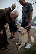 LONG BEACH TOWNSHIP,NJ 05 OCTOBER: Images from the annual Blessing of the Animals at the recently repaired St. Francis of Assisi Church in Brant Beach, NJ on the Anniversary of St. Francis.