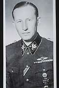 Reinhard Heydrich (1904–1942) SS-Obergruppenführer, chief of the Reich Security Main Office (including the Gestapo, SD and Nazi police agencies) and Reichsprotektor (Reich Protector) of Bohemia and Moravia. Heydrich chaired the 1942 Wannsee conference, which finalized plans for the extermination of all European Jews in what is now referred to as the Holocaust. Heydrich was wounded in an assassination attempt in Prague on 27 May 1942 and died over a week later from complications arising from his injuries.