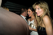 Georgina Chapman and Natascha McElhone, Weinstein Bafta after-party in association with Chopard. Bungalow 8. London. 10  February 2008.  *** Local Caption *** -DO NOT ARCHIVE-© Copyright Photograph by Dafydd Jones. 248 Clapham Rd. London SW9 0PZ. Tel 0207 820 0771. www.dafjones.com.