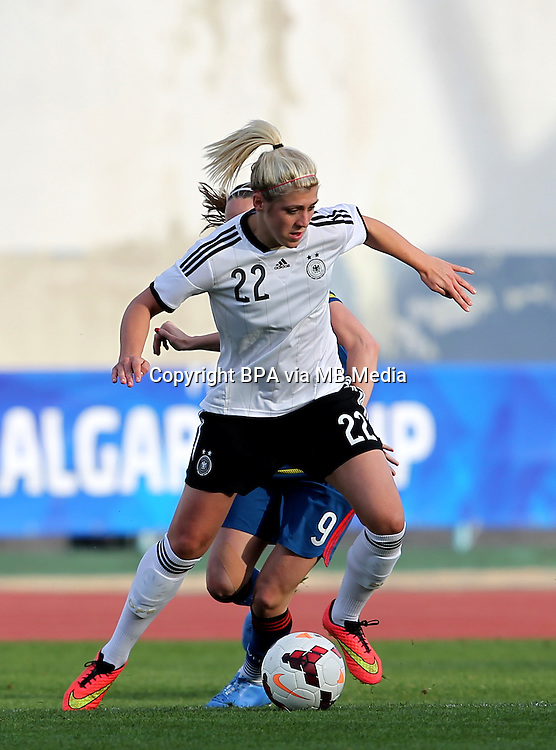Fifa Womans World Cup Canada 2015 - Preview //<br /> Algarve Cup 2015 Tournament ( Vila Real San Antonio Sport Complex - Portugal ) - <br /> Germany vs Sweden 2-4   -  Luisa Wensing of Germany
